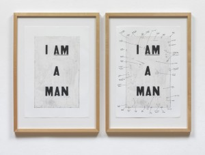 Condition Report 2000 Glenn Ligon born 1960 Lent by the American Fund for the Tate Gallery 2007 http://www.tate.org.uk/art/work/L02822